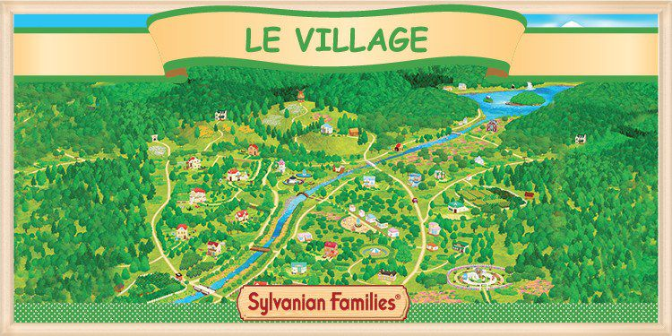 Le village des Sylvanian Families