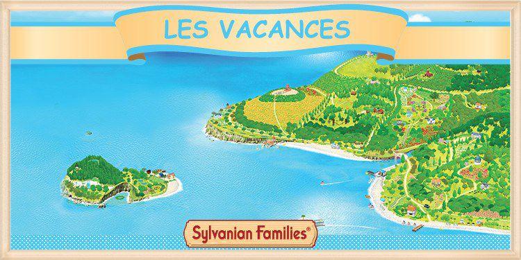 Les vacances des Sylvanian Families