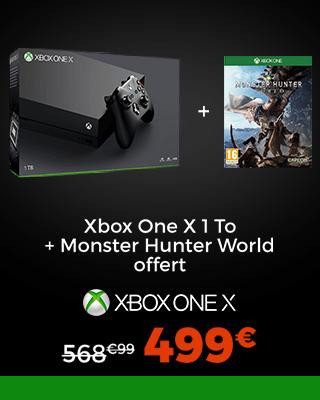 Xbox x + Monster Hunter