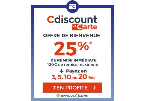 CDISCOUNT CARTE