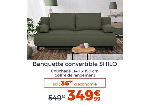 Banquette SHilo