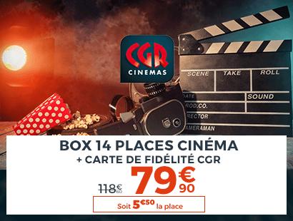 Cinema CGR 14 places
