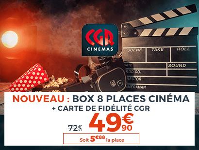 Cinema CGR 8 places