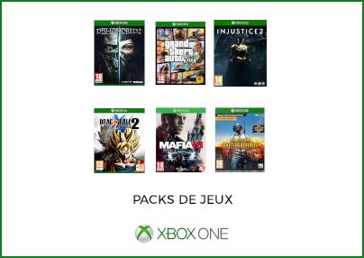 Packs de jeux Xbox One