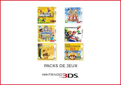 Packs de jeux 3DS