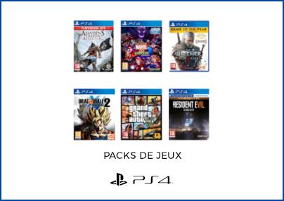 Packs de jeux PS4