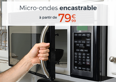 MICROONDES ENCASTRABLE