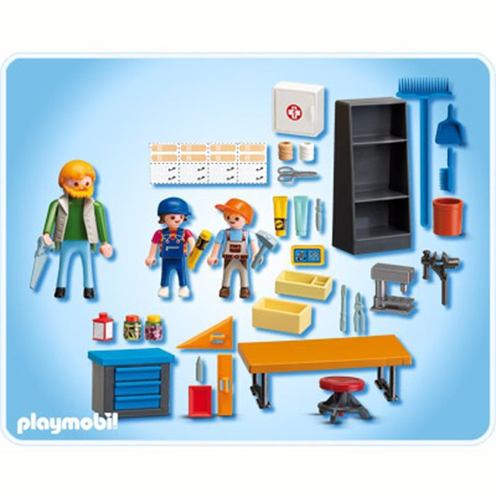 playmobil 4326 classe de technologie achat vente. Black Bedroom Furniture Sets. Home Design Ideas