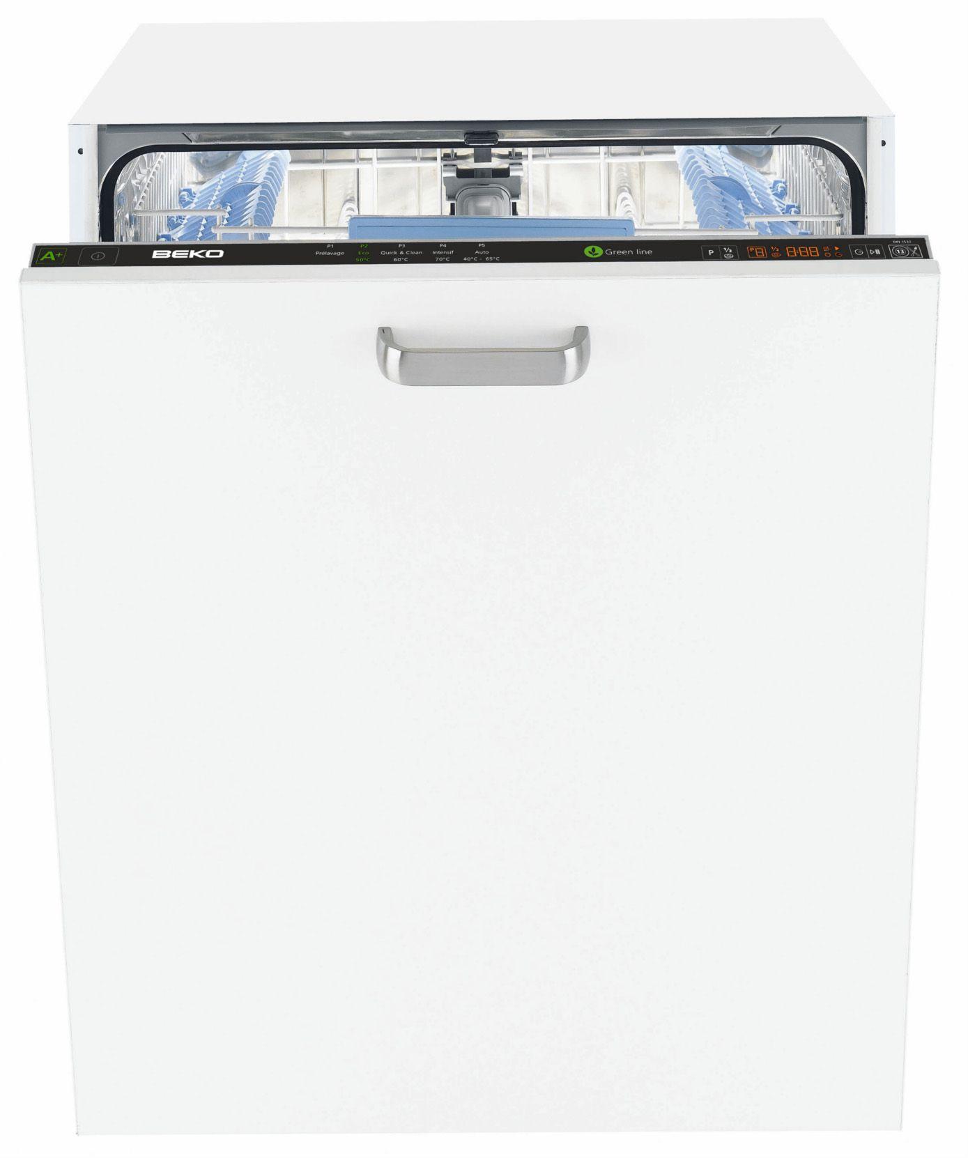 Beko din5532 lave vaisselle tout int grable achat for Prix mini lave vaisselle