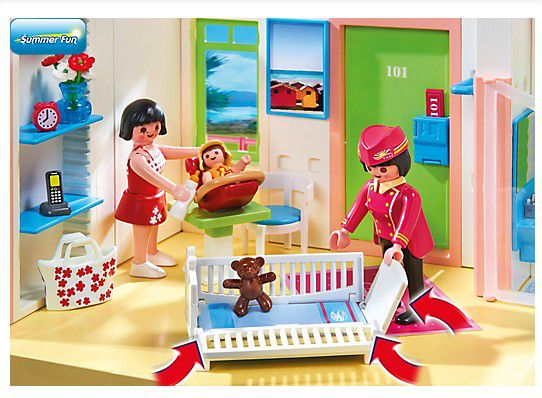 Destockage playmobil 5265 grand hotel univers for Hotel destockage
