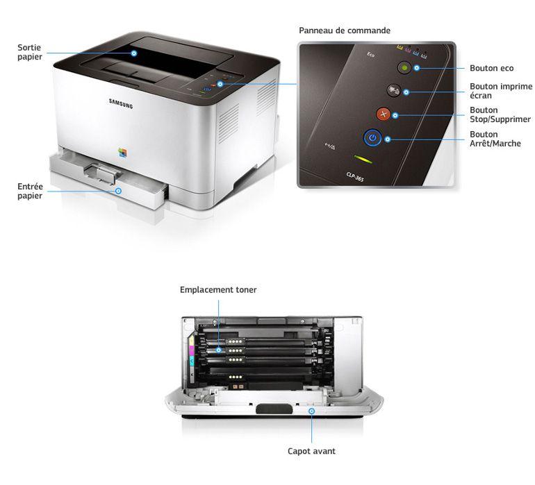 samsung imprimante laser clp 365 prix pas cher cdiscount. Black Bedroom Furniture Sets. Home Design Ideas