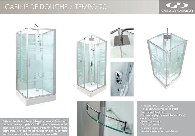 cabine douche integrale gelco design id e inspirante pour la conception de la maison. Black Bedroom Furniture Sets. Home Design Ideas