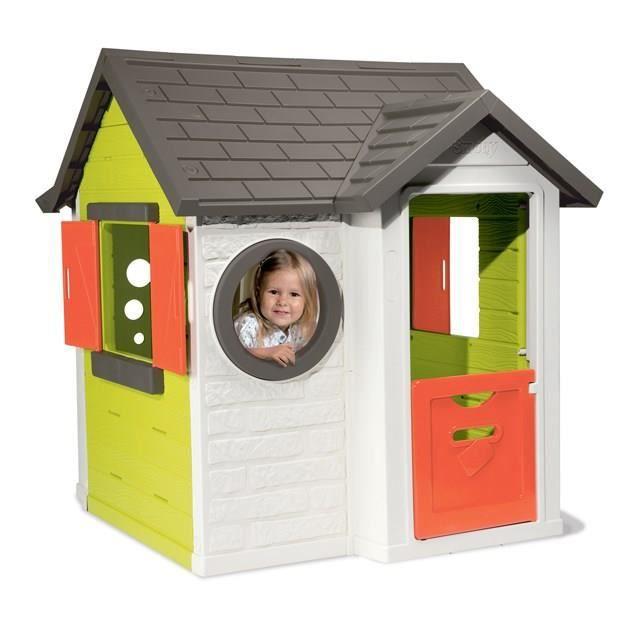 ancienne version smoby maison my house achat vente maisonnette ext rieure cdiscount. Black Bedroom Furniture Sets. Home Design Ideas