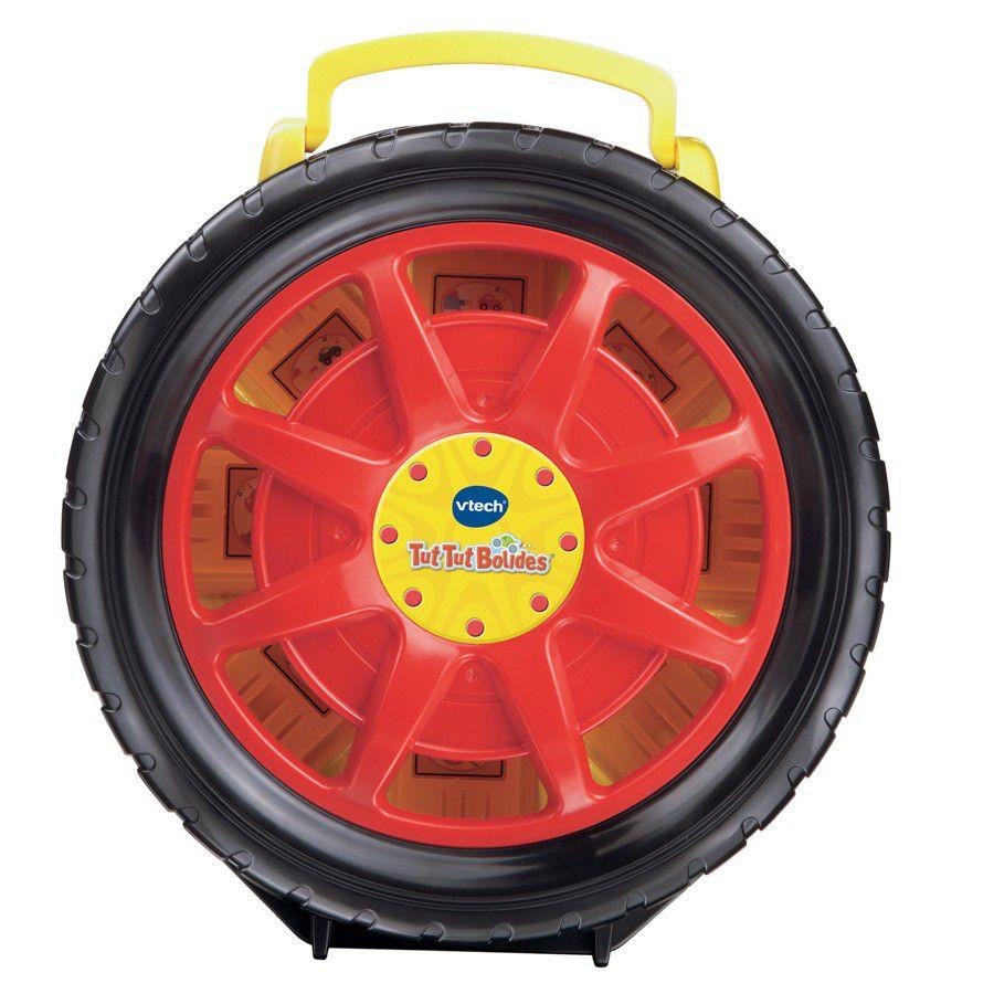 Tut tut bolides mallette press go achat vente for Rangement roue garage
