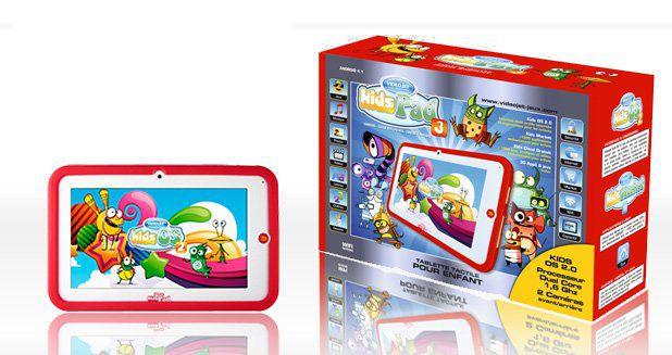 Videojet tablette enfant kidspad 3 achat vente - Tablette tactile enfant leclerc ...