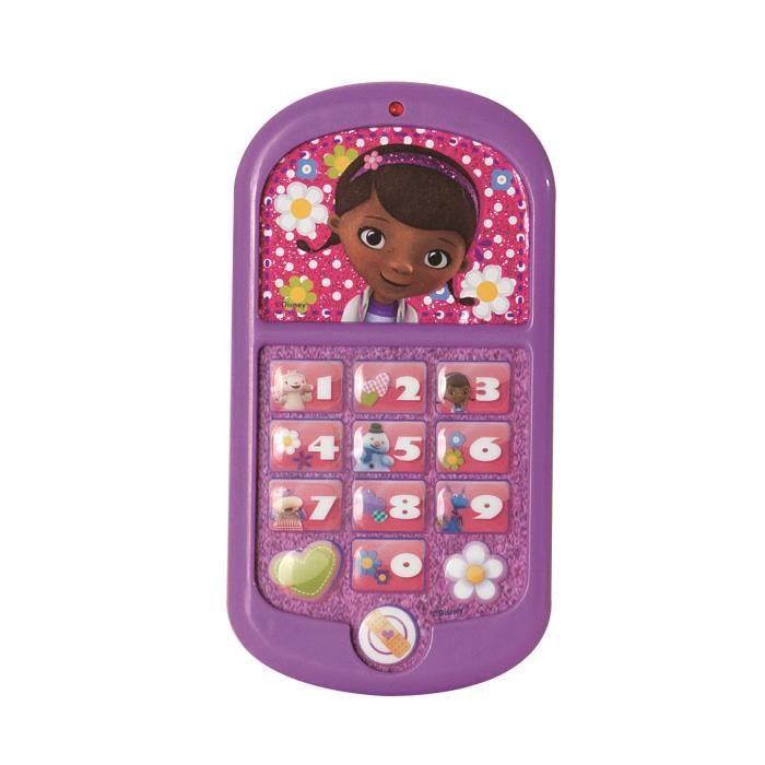 docteur la peluche t l phone portable achat vente telephone jouet cdiscount. Black Bedroom Furniture Sets. Home Design Ideas
