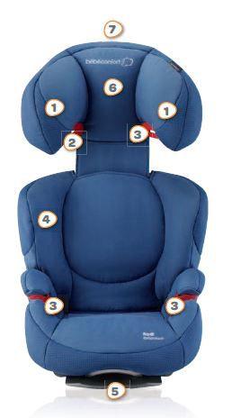 bebe confort r hausseur rodi air protect achat vente si ge auto r hausseur bebe confort. Black Bedroom Furniture Sets. Home Design Ideas