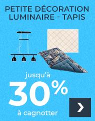 Petite déco - luminaire - Tapis
