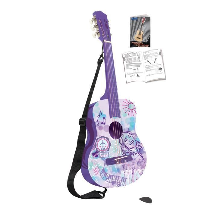 violetta guitare acoustique enfant lexibook achat. Black Bedroom Furniture Sets. Home Design Ideas