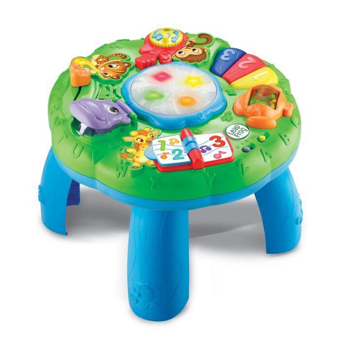 Leapfrog table d 39 eveil musicale des animaux achat for Table d activite bebe avec siege