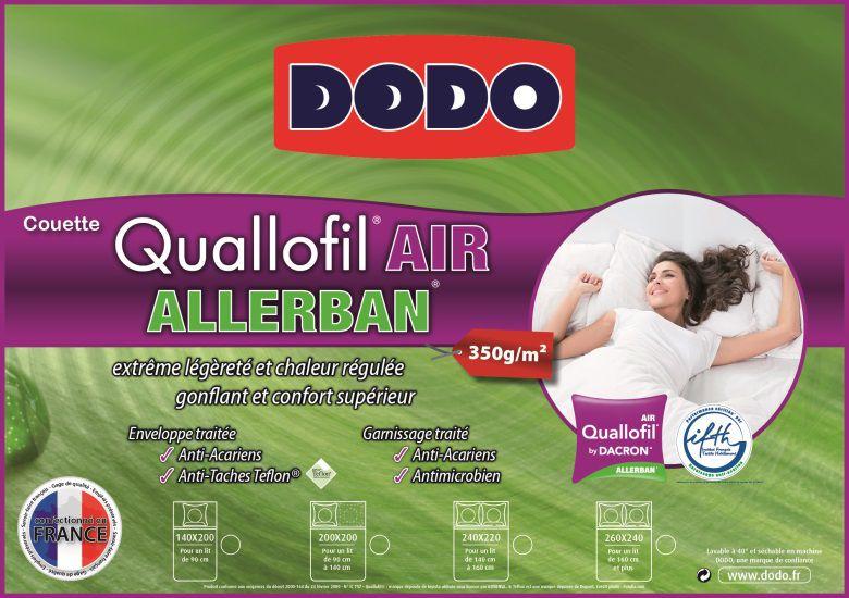 Dodo couette quallofil air allerban 240x260cm achat vente couette cdisc - Couette quallofil allerban ...