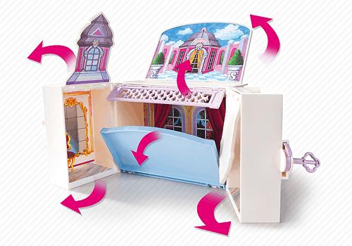 playmobil 5419 coffre princesse achat vente univers miniature playmobil 5419 coffre princ. Black Bedroom Furniture Sets. Home Design Ideas