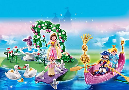 compactset anniversaire ilot des princesses et gondole