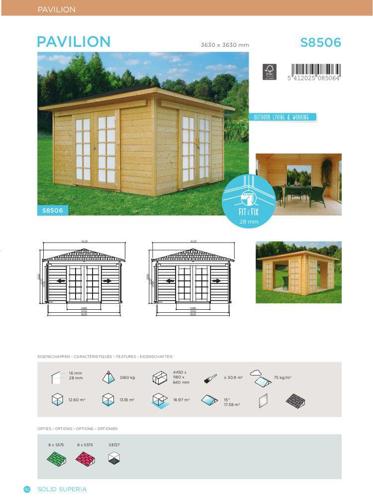 Awesome Abri De Jardin Pavillon Contemporary - Design Trends 2017 ...