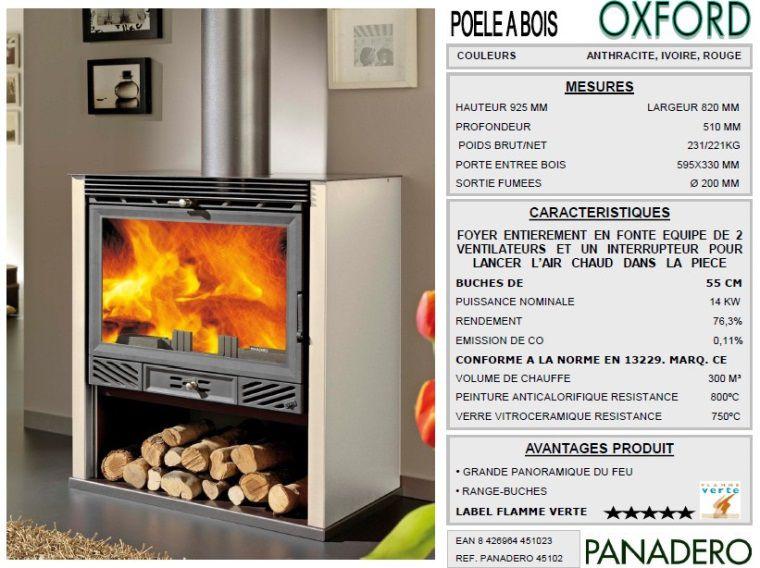 panadero po le bois oxford ivoire 14kw achat vente po le insert foyer po le bois. Black Bedroom Furniture Sets. Home Design Ideas