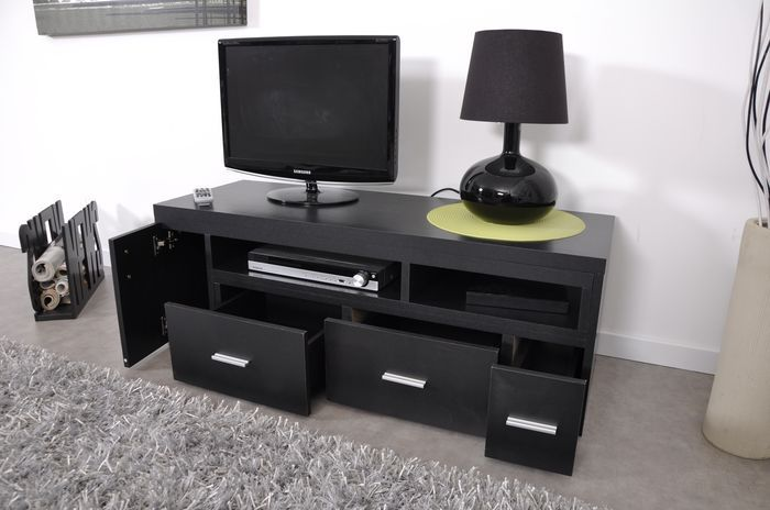 slide meuble tv extensible noir achat vente meuble tv slide meuble tv extensible no panneaux. Black Bedroom Furniture Sets. Home Design Ideas