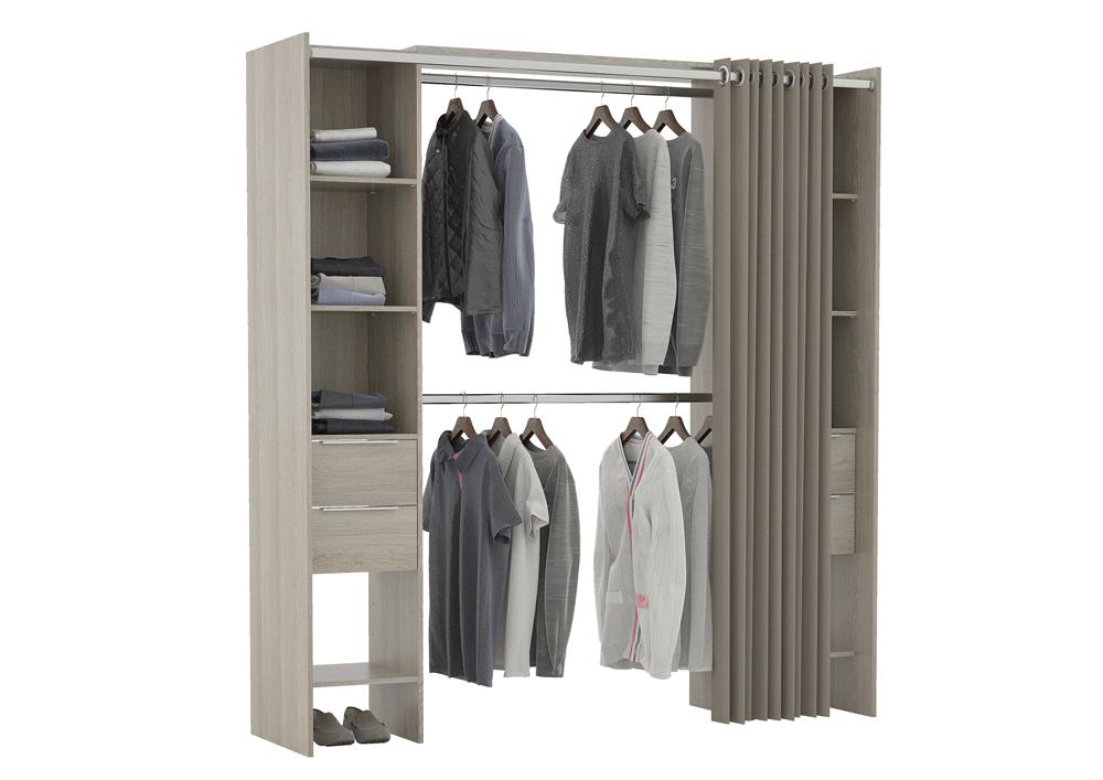 Dana Kit Dressing Extensible Rideau Contemporain Décor