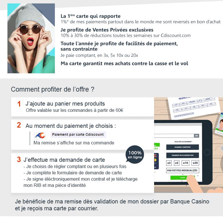 Carte cdiscount payez en plusieurs fois et profitez de nombreux avantages - Carte grise en ligne paiement en plusieurs fois ...