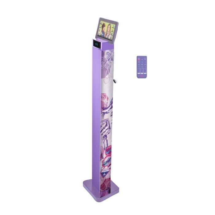 violetta tour de son enceinte bluetooth lexibook achat vente radio cd enfant cdiscount. Black Bedroom Furniture Sets. Home Design Ideas