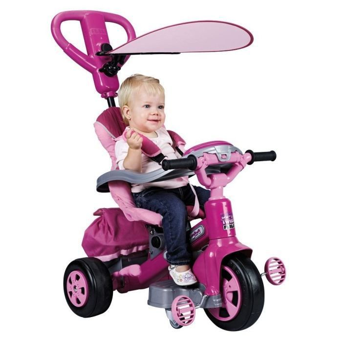 feber tricycle evolutif baby twist girl achat vente. Black Bedroom Furniture Sets. Home Design Ideas