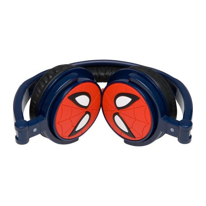 spiderman casque audio enfant lexibook achat vente. Black Bedroom Furniture Sets. Home Design Ideas
