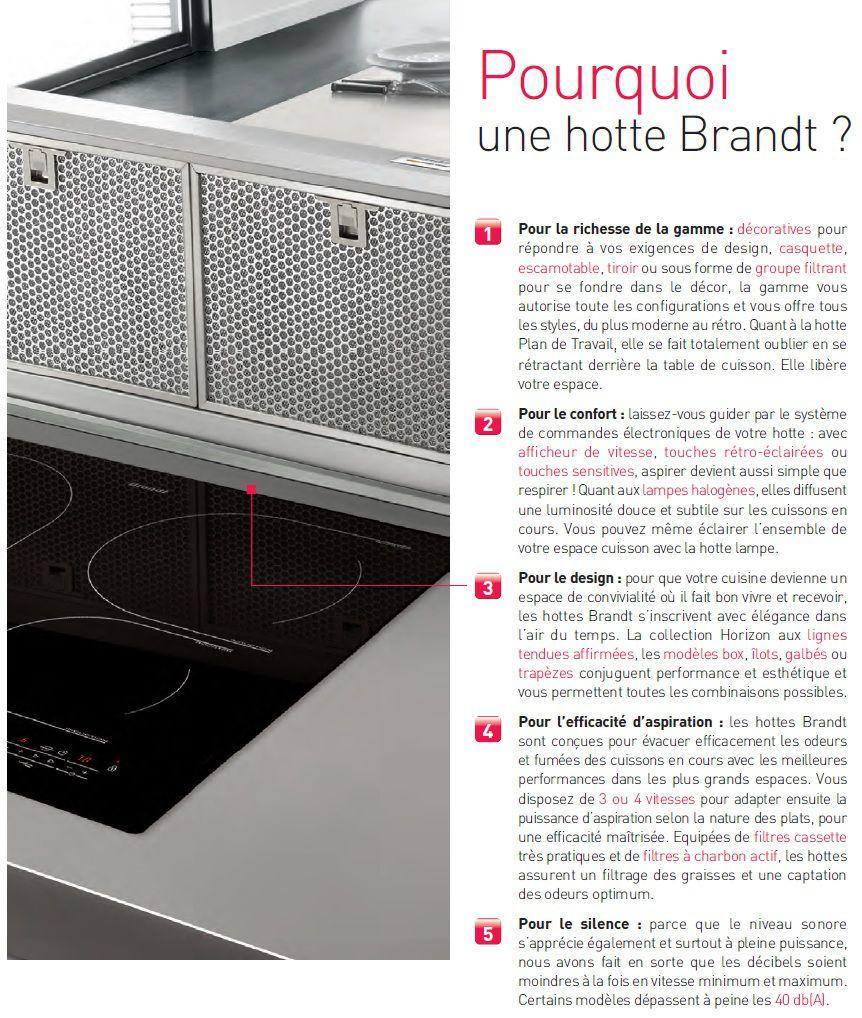 Filtre hotte brandt ad1079x ustensiles de cuisine - Hotte de cuisine brandt ...