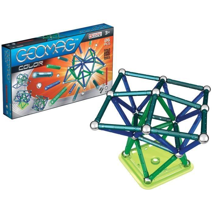 Geomag couleur jeu de construction magn tique 86 pi ces achat vente assem - Video de jeux de construction ...