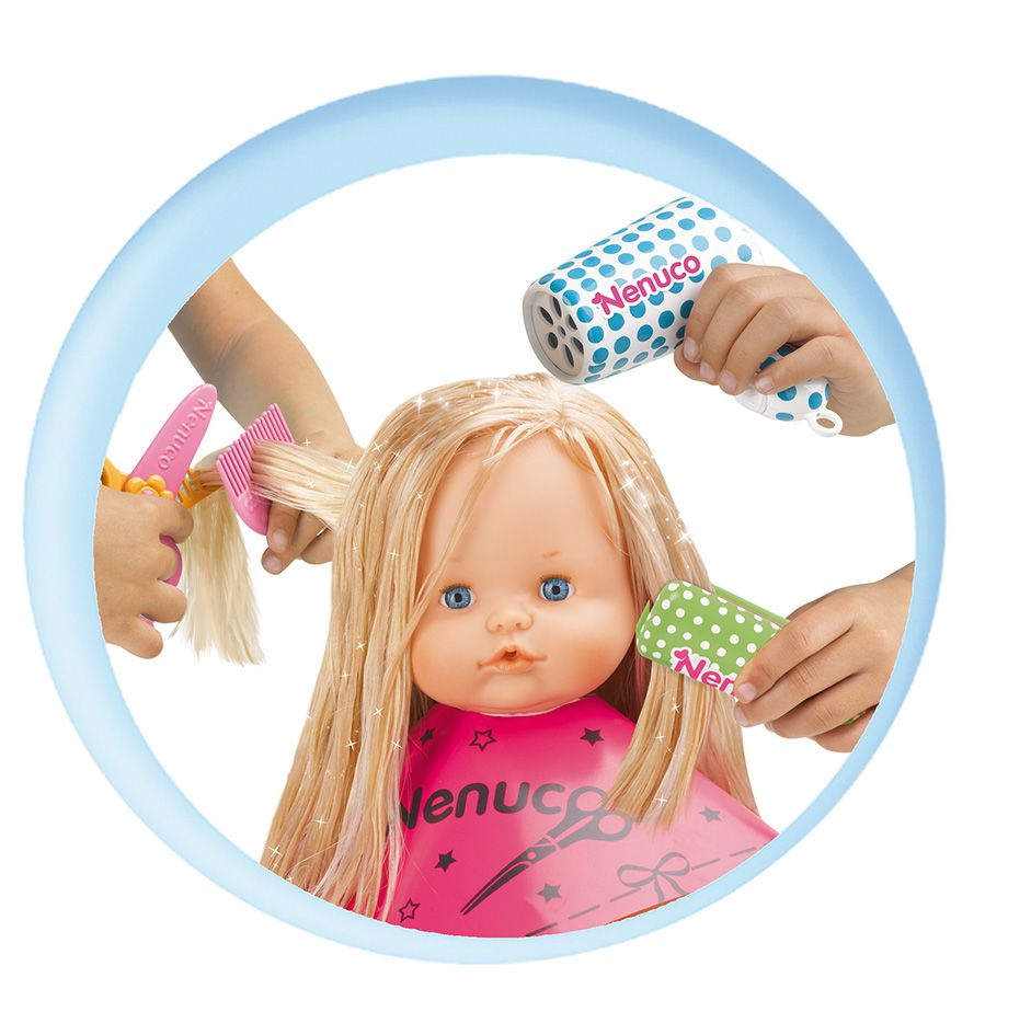 Nenuco le salon de coiffure avec accessoires achat for Achat salon coiffure