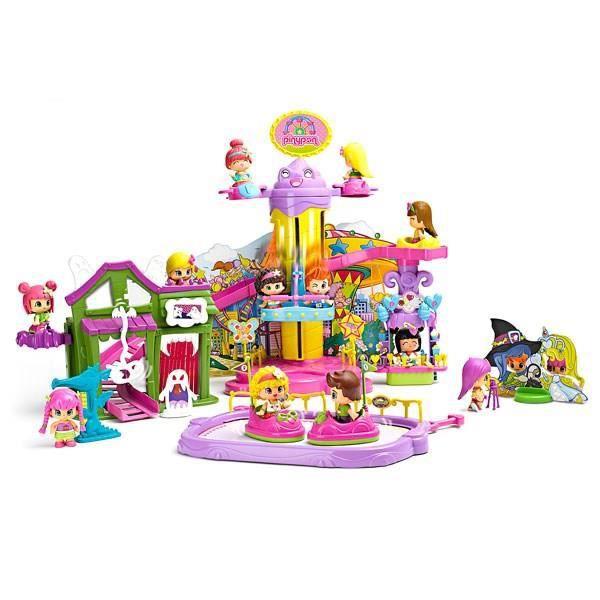 pinypon la f te foraine avec 1 figurine et accessoires achat vente figurine personnage. Black Bedroom Furniture Sets. Home Design Ideas