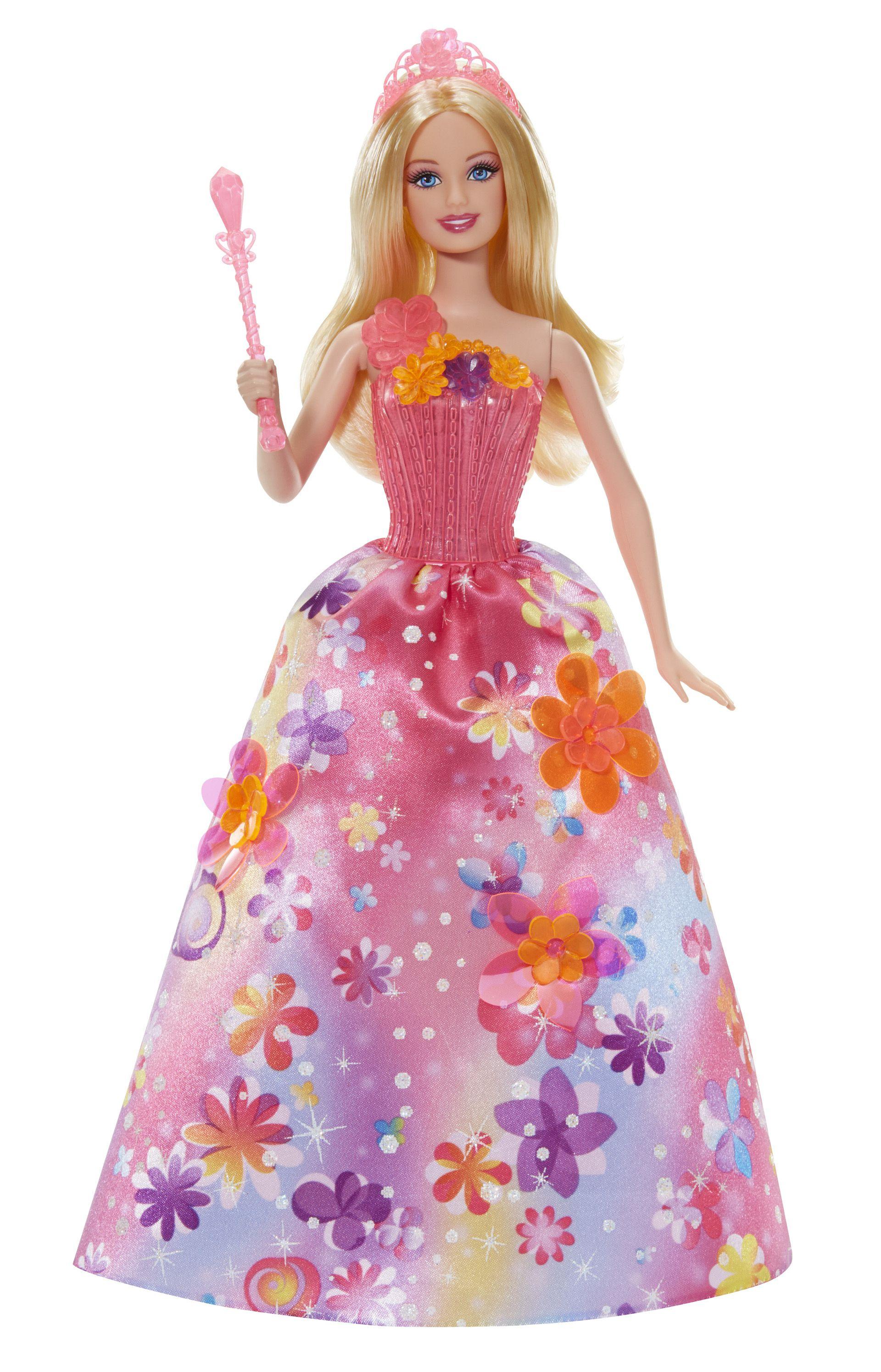 Barbie princesse magique alexa achat vente poup e cdiscount - Princesse barbie ...