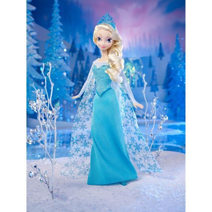 Frozen la reine des neiges elsa scintillante achat - Princesse des neiges ...