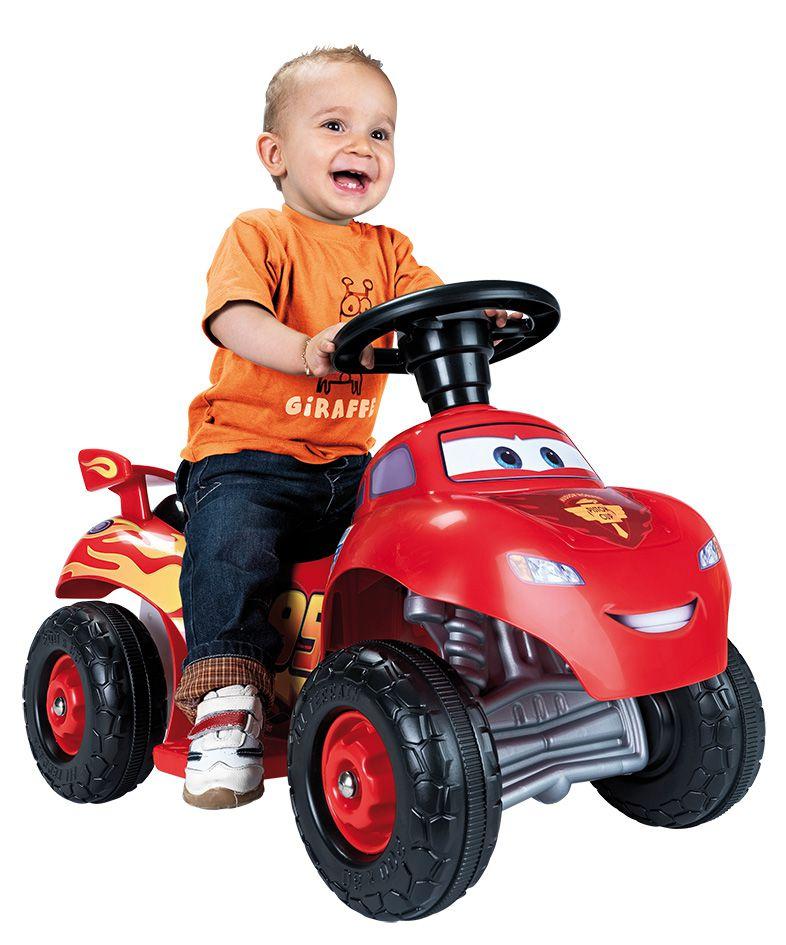 Feber quad cars lightning mcqueen v hicule electrique pour enfant 6 volts achat vente - Auto flash mcqueen ...