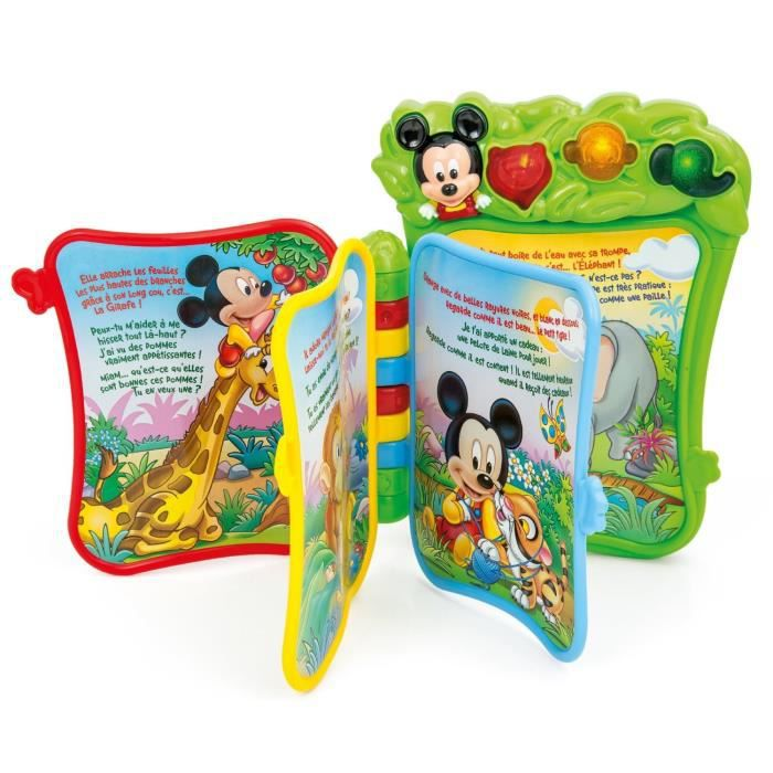 livre musical de mickey de clementoni. Black Bedroom Furniture Sets. Home Design Ideas