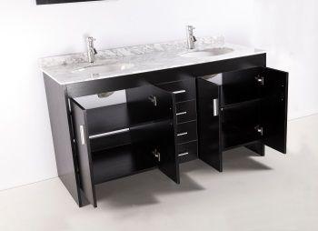 Neree salle de bain compl te 150cm noir mat achat for Colonne de salle de bain noir mat