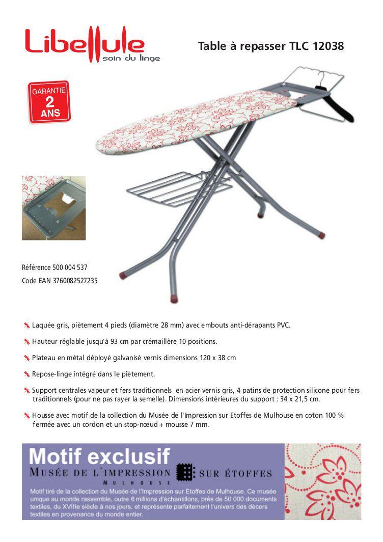libellule table repasser tlc12038 achat vente table. Black Bedroom Furniture Sets. Home Design Ideas