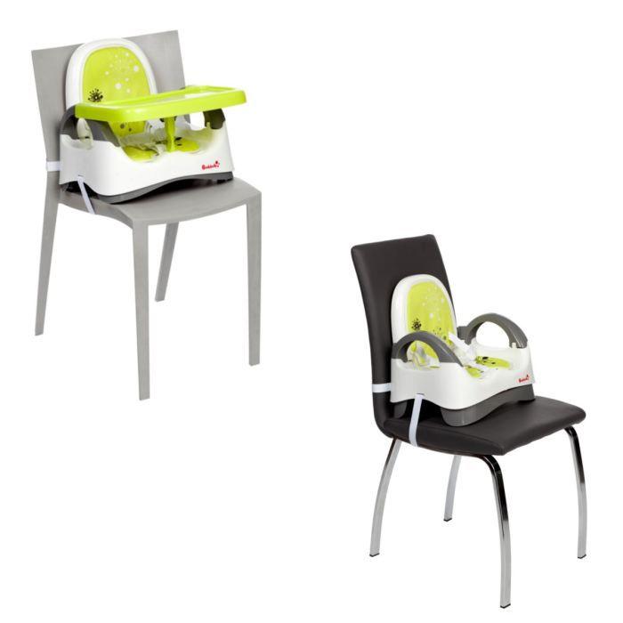 badabulle r hausseur confort blanc vert blanc vert. Black Bedroom Furniture Sets. Home Design Ideas