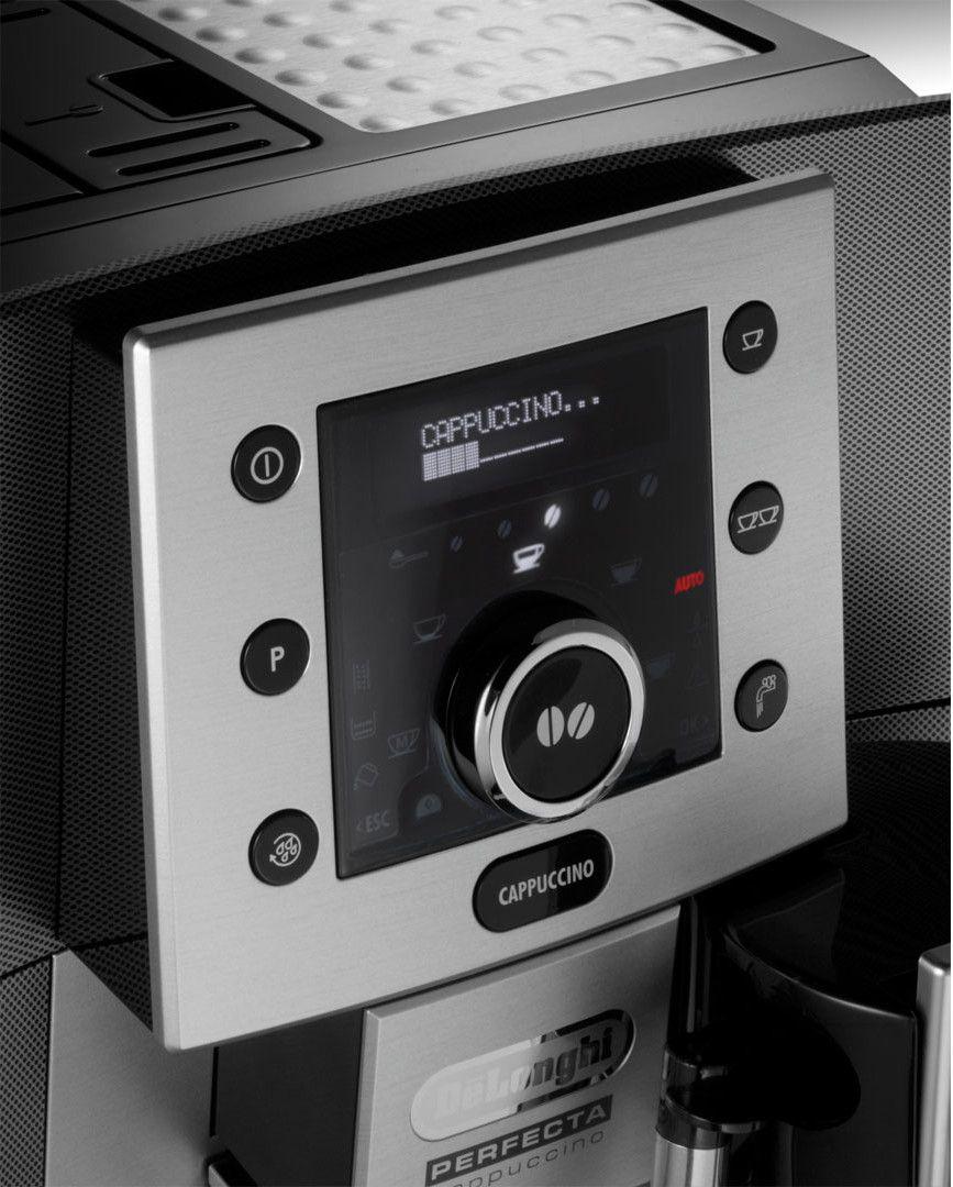 Delonghi esam 5500 m machine expresso automatique avec broyeur perfecta cappu - Machine cafe delonghi avec broyeur ...