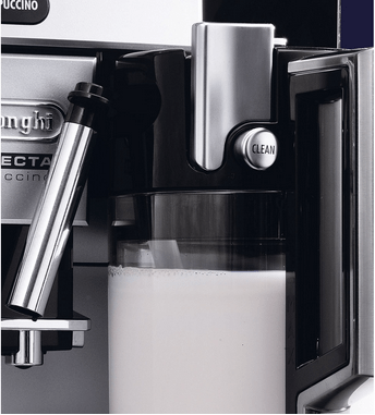 delonghi machine expresso automatique avec broyeur perfecta cappuccino esam 5500 m 15 bar. Black Bedroom Furniture Sets. Home Design Ideas