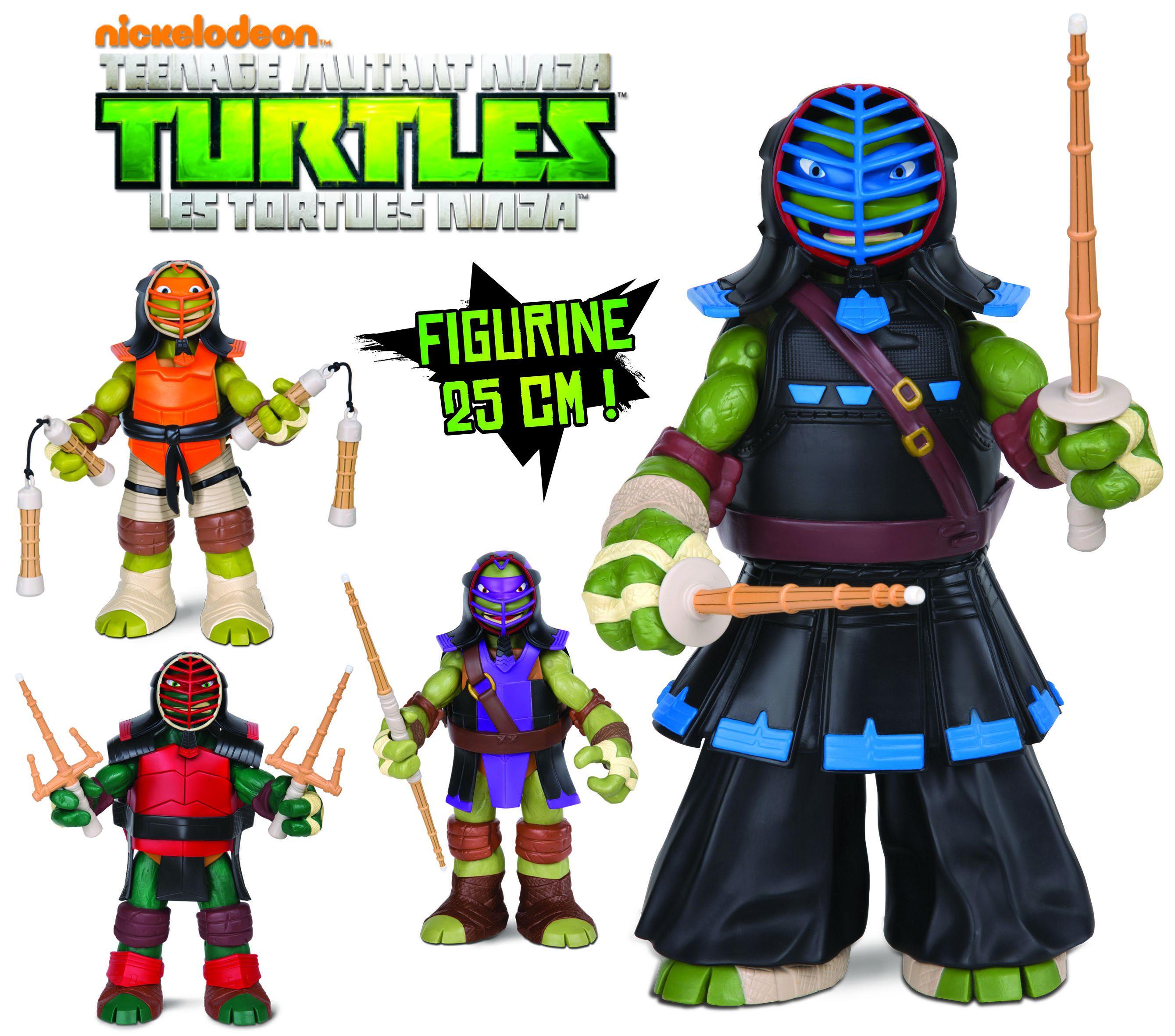 Tortues ninja figurine articul e leonardo 25 cm achat vente figurine personnage cdiscount - Leonardo tortues ninja ...