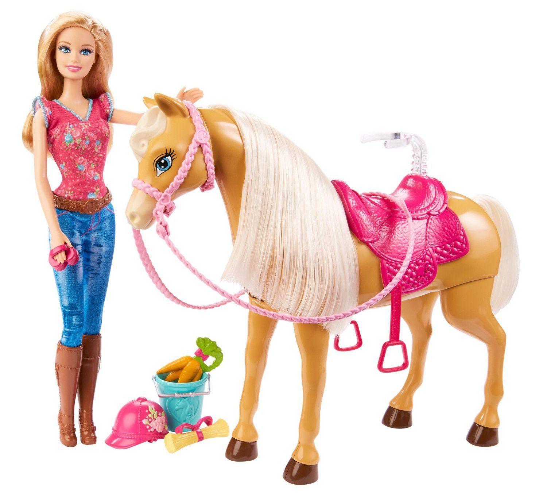 Barbie et son cheval tawny achat vente poup e cdiscount - Barbie et le cheval ...